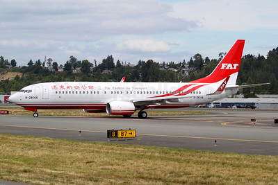 The first Boeing 737-800 for FAT, the return of the 737