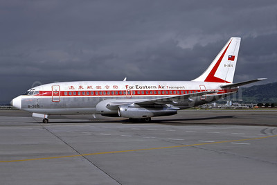 Far Eastern Air Transport-FAT Boeing 737-2Q8 B-2615 (msn 21687) TPE (Martin Hornlimann - Bruce Drum Collection). Image: 947101.