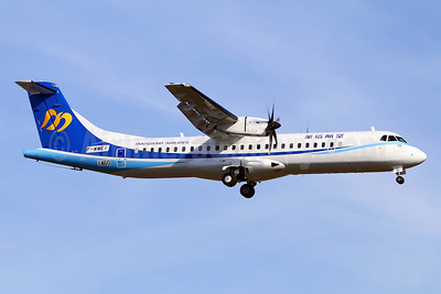 The first ATR 72-600 for Mandarin Airlines, delivered on November 24, 2017
