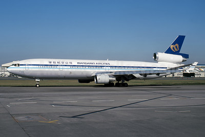 Mandarin Airlines McDonnell Douglas MD-11 B-150 (msn 48468) HND (Yoshihiro Kuwada - Rob Rindt Collection). Image: 952735.
