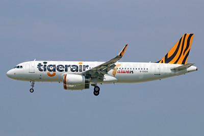 Tigerair Taiwan Airbus A320-232 WL B-50001 (msn 6187) SIN (Michael B. Ing). Image: 924813.