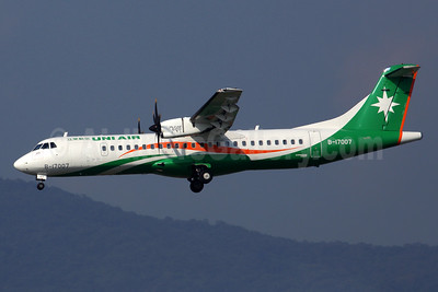 UNI Air ATR 72-212A (ATR 72-600) B-17007 (msn 1111) TSA (Rob Finlayson). Image: 934261.