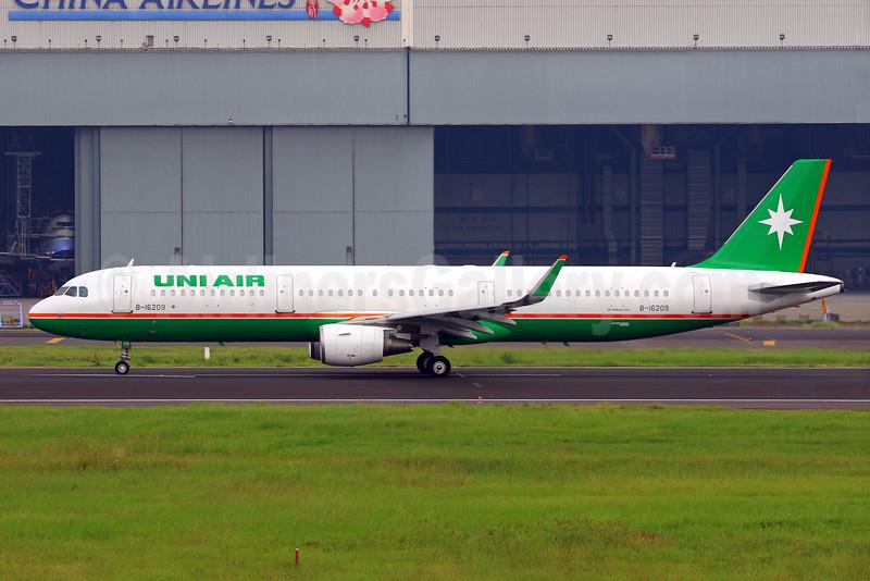 UNI Air's first Airbus A321