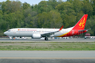 Air Changan-HNA Boeing 737-8 MAX 8 B-207R (msn 60712) BFI (Joe G. Walker). Image: 946584.