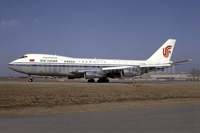 Air China Cargo Boeing 747-2J6B (F)  B-2446 (msn 23071) PEK (Dirk Spalding - Bruce Drum Collection). Image: 944789.