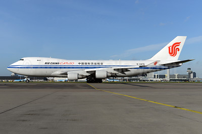 Air China Cargo Boeing 747-4FTF B-2476 (msn 34240) AMS (Ton Jochems). Image: 928689.