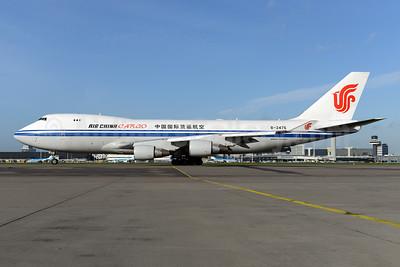 Air China Cargo Boeing 747-4FTF B-2476 (msn 34240) AMS (Ton Jochems). Image: 928689.