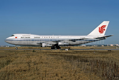 Air China Cargo Boeing 747-2J6B (F)  B-2448 (msn 23461) FRA (Rob Rindt Collection). Image: 950064.