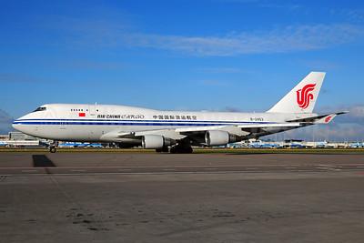 Air China Cargo Boeing 747-412 (F) B-2453 (msn 27134) AMS (Ton Jochems). Image: 953269.