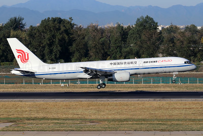Air China Cargo Boeing 757-2Z0F B-2841 (msn 27367) PEK (Michael B. Ing). Image: 948111.
