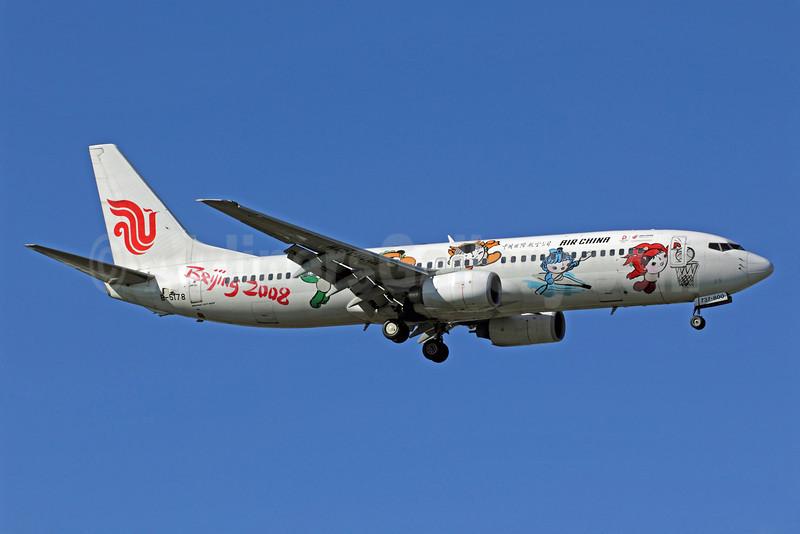 Air China Boeing 737-86N B-5178 (msn 32682) (Beijing 2008) PEK (Michael B. Ing). Image: 905614.
