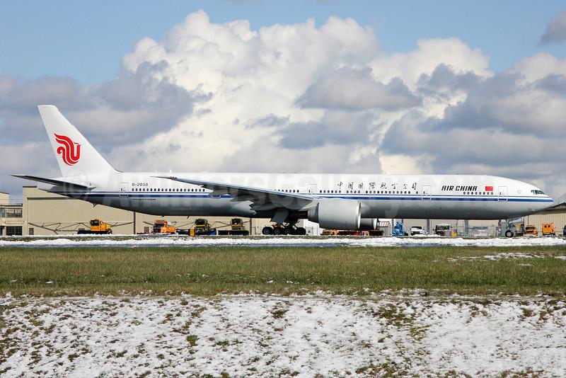 Air China Boeing 777-39L ER B-2038 (msn 38678) PAE (Nick Dean). Image: 911619.
