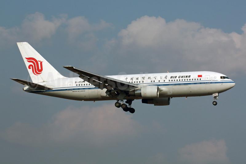 Air China Boeing 767-2J6 ER B-2555 (msn 24007) NRT (Michael B. Ing). Image: 901274.