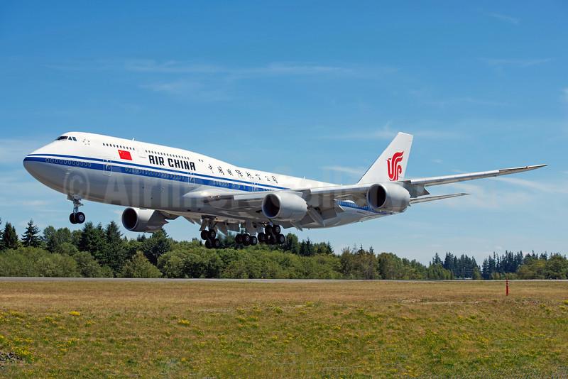 Air China Boeing 747-89L B-2485 (msn 41191) PAE (Bernie Leighton). Image: 923860.