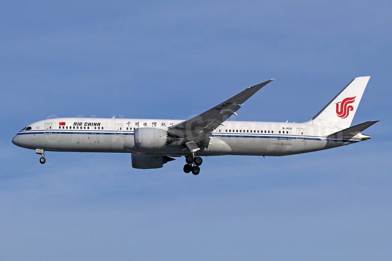Air China Boeing 787-9 Dreamliner B-1591 (msn 34312) LAX (Michael B. Ing). Image: 940250.