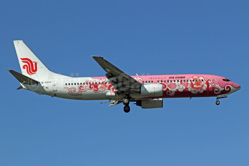 Air China Boeing 737-89L B-2642 (msn 29877) (Pink Peony) PEK (Michael B. Ing). Image: 905615.