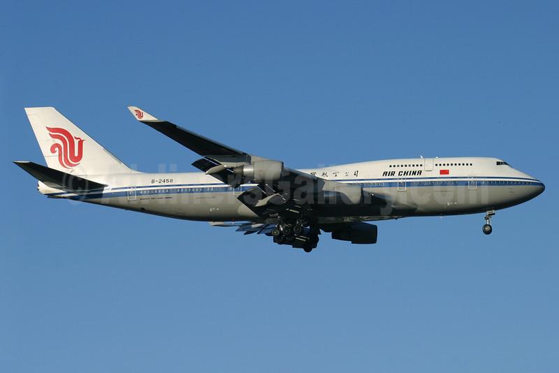 Air China Boeing 747-4J6 B-2458 (msn 24347) LHR (Antony J. Best). Image: 901976.