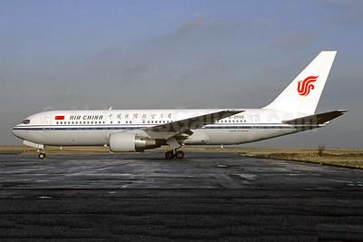 Air China Boeing 767-2J6 ER B-2555 (msn 24007) CDG (Christian Volpati). Image: 946221.