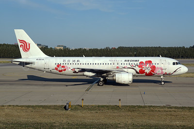 "Air China's 2010 ""Plum Blossom"" special livery"
