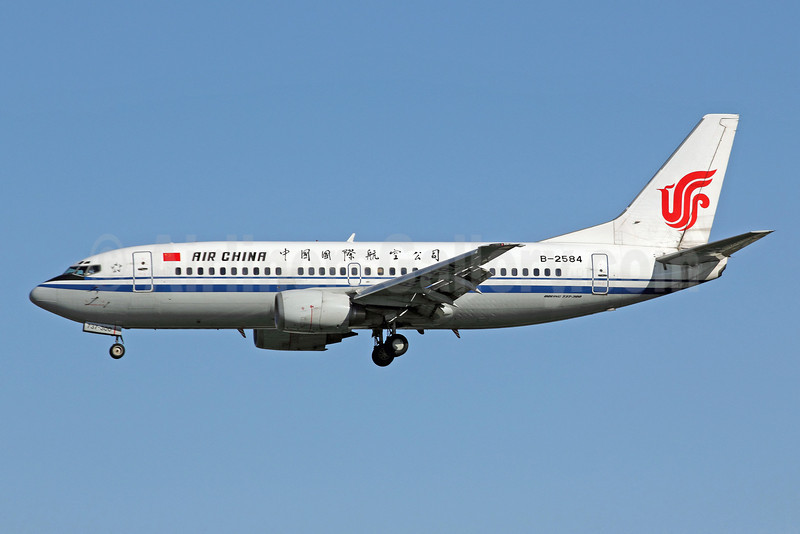 Air China Boeing 737-3J6 B-2584 (msn 25891) PEK (Michael B. Ing). Image: 907423.