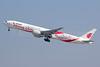 Air China Boeing 777-39L ER B-2035 (msn 38674) (Smiling China) SHA (Yuji Wang). Image: 910816.