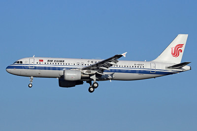 Air China Airbus A320-214 B-6607 (msn 3461) PEK (Michael B. Ing). Image: 912277