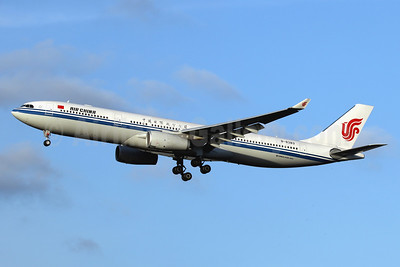 Air China Airbus A330-343 B-8383 (msn 1802) LHR (SPA). Image: 940950.