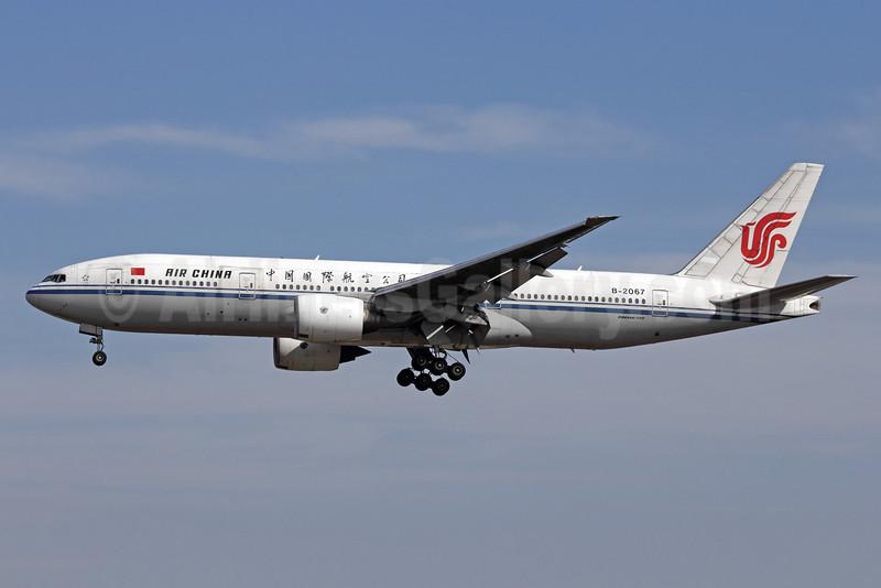 Air China Boeing 777-2J6 B-2067 (msn 29746) PEK (Michael B. Ing). Image: 910759.