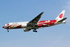 Air China Boeing 777-2J6 B-2060 (msn 29154) (red Phoenix Liner) SHA (Yuji Wang). Image: 910815.
