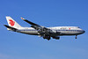 Air China Boeing 747-4J6 B-2469 (msn 28756) LHR (Keith Burton). Image: 901273.