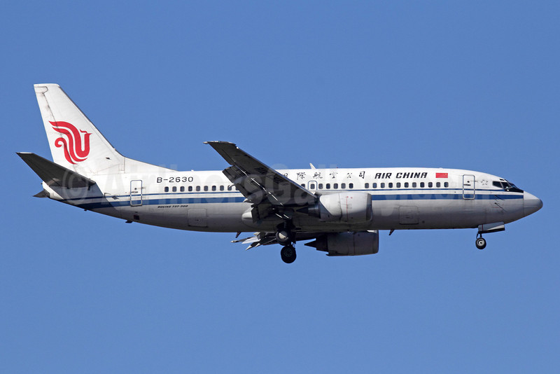 Air China Boeing 737-36E B-2630 (msn 26317) PEK (Michael B. Ing). Image: 920050.