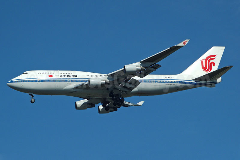 Air China Boeing 747-4J6 B-2467 (msn 28754) JFK (Bruce Drum). Image: 100346.