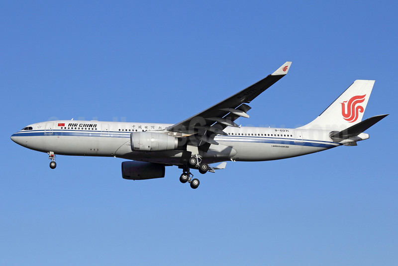 Air China Airbus A330-243 B-6071 (msn 756) PEK (Michael B. Ing). Image: 920069.