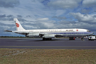 Air China Boeing 707-3J6C B-2414 (msn 20720) HBA (Rob Finlayson). Image: 936932.