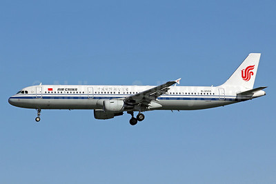 Air China Airbus A321-213 B-6555 (msn 3766) PEK (Michael B. Ing). Image: 905738.