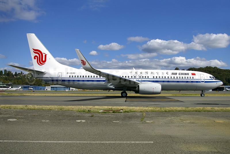 Air China Boeing 737-89L WL B-5130 (msn 44922) BFI (Joe G. Walker). Image: 929628.