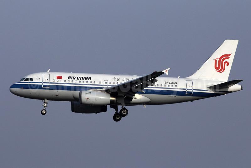 Air China Airbus A319-131 B-6048 (msn 2559) PEK (Michael B. Ing). Image: 907904.