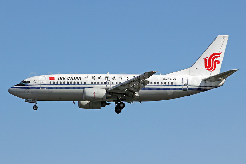 Air China Boeing 737-36E B-2627 (msn 26315) PEK (Michael B. Ing). Image: 907419.
