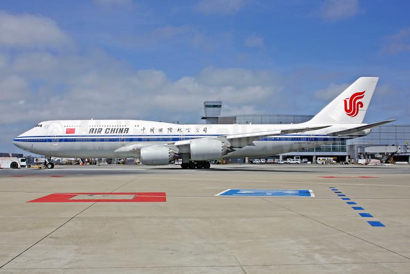 Air China Boeing 747-89L B-2487 (msn 44932) SFO (Mark Durbin). Image: 927829.