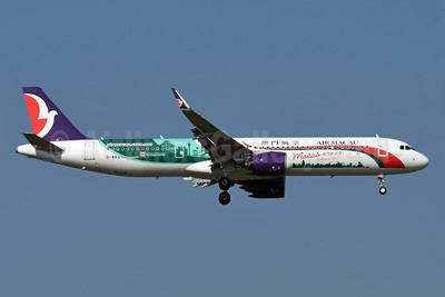 """2019 """"Macao Welcomes You!"""" special livery"""