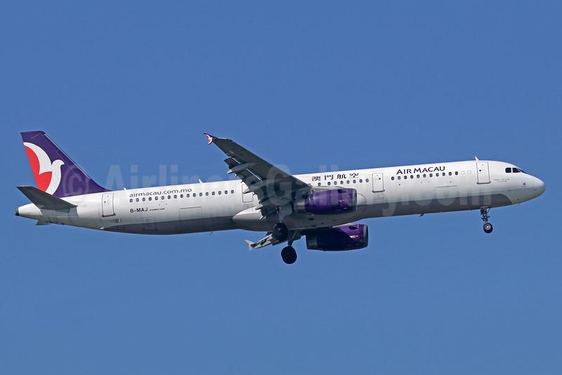 Air Macau Airbus A321-231 B-MAJ (msn 908) BKK (Michael B. Ing). Image: 936179.