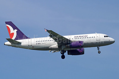 Air Macau Airbus A319-132 B-MAL (msn 1790) BKK (Michael B. Ing). Image: 940424.
