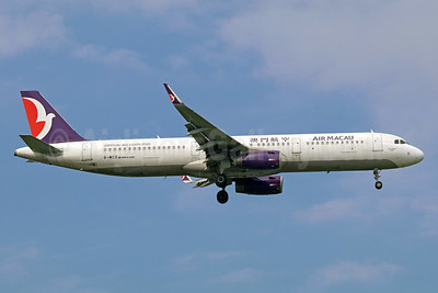 Air Macau Airbus A321-231 WL B-MCD (msn 6912) BKK (Michael B. Ing). Image: 940423.
