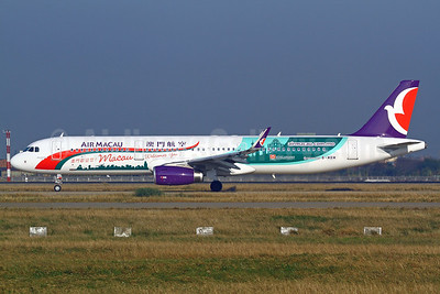 Air Macau Airbus A321-231 WL B-MBM (msn 6324) (Macau Welcomes You!) TPE (Manuel Negrerie). Image: 925635.