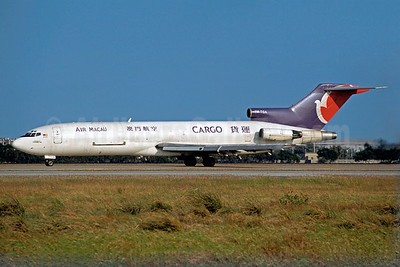 Air Macau Cargo (Transmile Air Services) Boeing 727-2F2 (F) 9M-TGA (msn 22993) TPE (Christian Volpati Collection). Image: 923389.