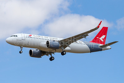 Air Travel's first Airbus A320neo