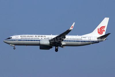 Beijing Airlines Boeing 737-89L WL B-5443 (msn 36746) (Air China colors) PEK (Michael B. Ing). Image: 948309.