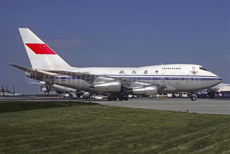 CAAC (Civil Aviation Administration of China) Boeing 747SP-J6 B-2442 (msn 21932) CDG (Christian Volpati). Image: 907090.