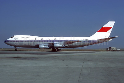 CAAC (Civil Aviation Administration of China) Boeing 747-2J6B B-2446 (msn 23071) CDG (Christian Volpati). Image: 944790.