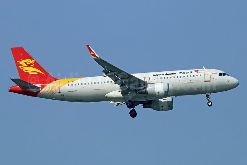 Capital Airlines (China)-HNA Airbus A320-214 WL B-1810 (msn 5997) BKK (Michael B. Ing). Image: 934617.